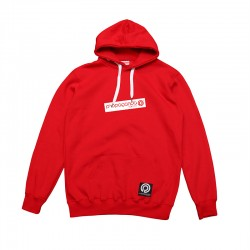 Classic Tilt Box Rescaled Hoodie Red