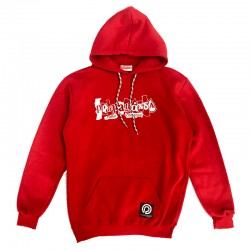 Collage Hoodie Red